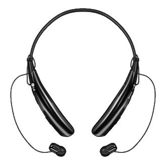 LG Tone Pro Stereo Bluetooth Headset - Black