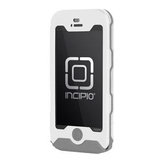 iPhone 5 Incipio ATLAS Waterproof Case - White & Grey