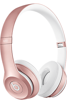 Beats Solo2 Wireless On-Ear Headphones - Rose Gold