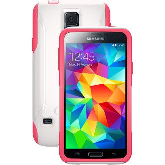 Samsung Galaxy S5 OtterBox Commuter Series Case - Neon Rose