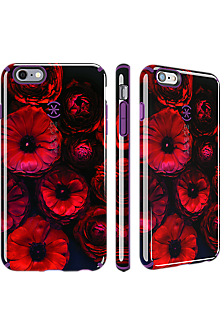 Speck CandyShell Inked for iPhone 6 Plus/6s Plus - Moody Bloom