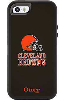 NFL Defender by OtterBox for Apple iPhone 5/5s - Cleveland Browns