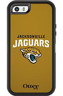 NFL Defender by OtterBox for Apple iPhone 5/5s - Jacksonville Jaguars