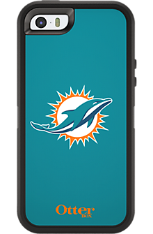 NFL Defender by OtterBox for Apple iPhone 5/5s - Miami Dolphins