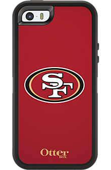 NFL Defender by OtterBox for Apple iPhone 5/5s - San Francisco 49ers