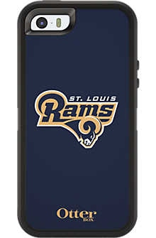 NFL Defender by OtterBox for Apple iPhone 5/5s - St. Louis Rams