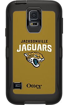 NFL Defender by OtterBox for Samsung Galaxy S5 - Jacksonville Jaguars