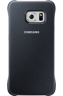 Protective Cover for Samsung Galaxy S 6 Edge - Black Sapphire