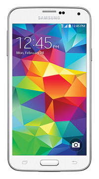 Samsung Galaxy S 5 - Shimmery White 16GB