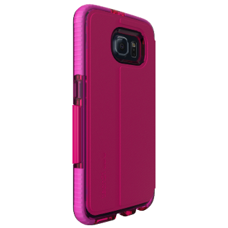 Samsung Galaxy S 6 Tech21 Evo Wallet Case - Pink