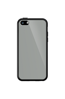 Clear Cover with Black Edge for Apple iPhone 5c