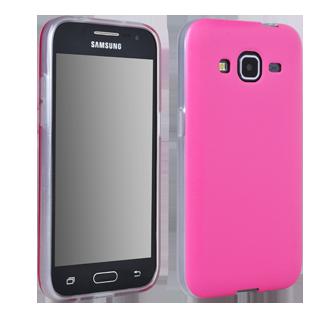 Samsung GALAXY CORE Prime Flex Protective Cover - Pink