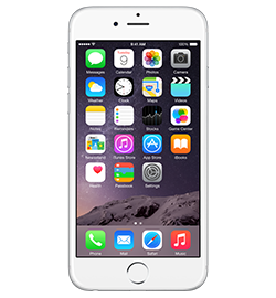iPhone 6 - Silver - 128GB