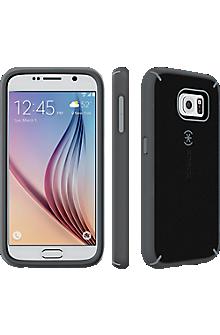Speck MightyShell for Samsung Galaxy S 6 - Black-Gravel Grey/Slate Grey
