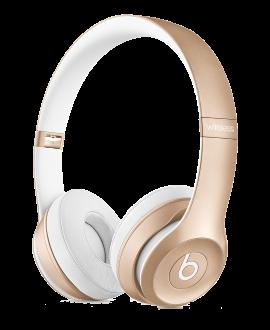 Beats Solo2 Wireless On-Ear Headphones - Gold