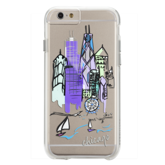 iPhone 6/6s Plus Case-Mate Naked Tough Case - Chicago