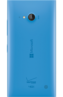 Wireless Charging Battery Door for Microsoft Lumia 735 - Cyan