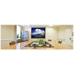 """Cirrus Screens - 100"""" Pull-down Projector Screen - White"""